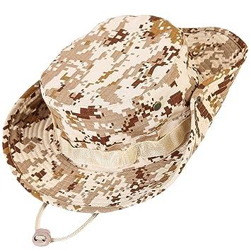 Unisex Militar Sombrero - Tela de algodón y poliéster suave superior ... 64a0892af4f