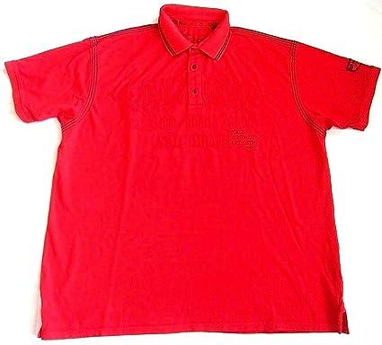 Kitaro - Polo - para Hombre Rojo Rojo XXXX-Large: Amazon.es: Ropa ...