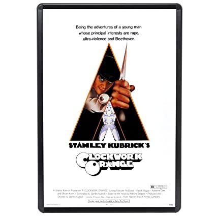 Amazon.com: SnapeZo Movie Poster Frame 27x41 Inches, Black 1.25 ...
