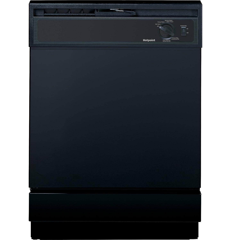 """24"""" 64 dBA Built-In Dishwasher Finish: Black"""