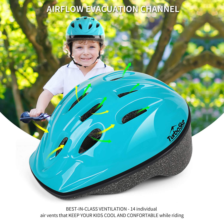 CPSC Certified Kids Multi-Sport Helmet for Age 3-5 TurboSke Child Helmet