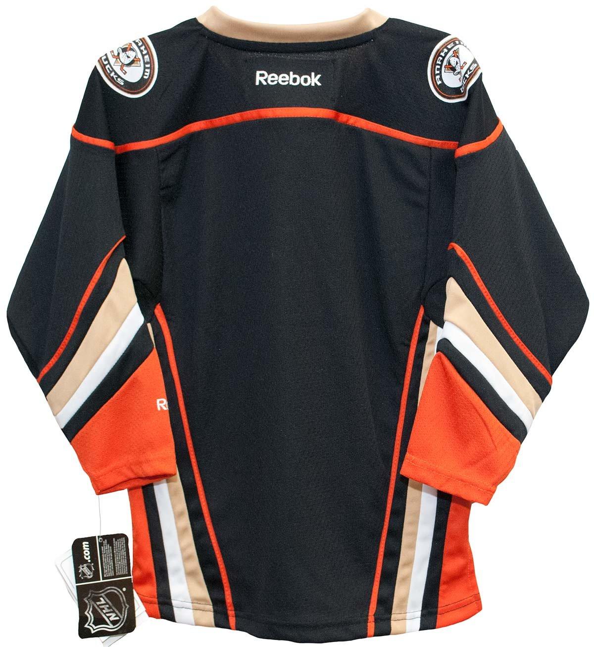 b490f2b48 Amazon.com   Anaheim Ducks Alternate Third Black Child Printed Jersey (4-7)    Sports   Outdoors