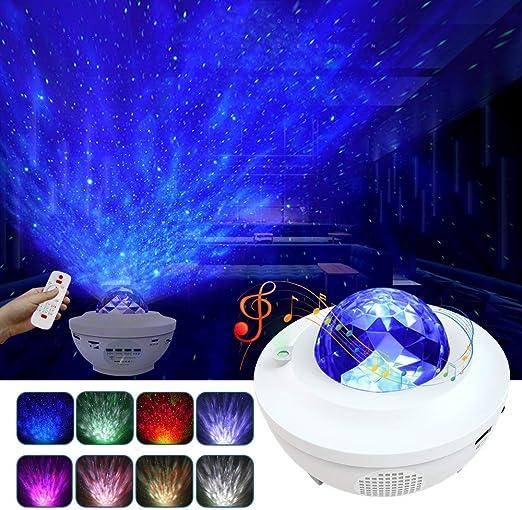 Amazon.com: Luz nocturna para niños, LBell 3 en 1 proyector ...