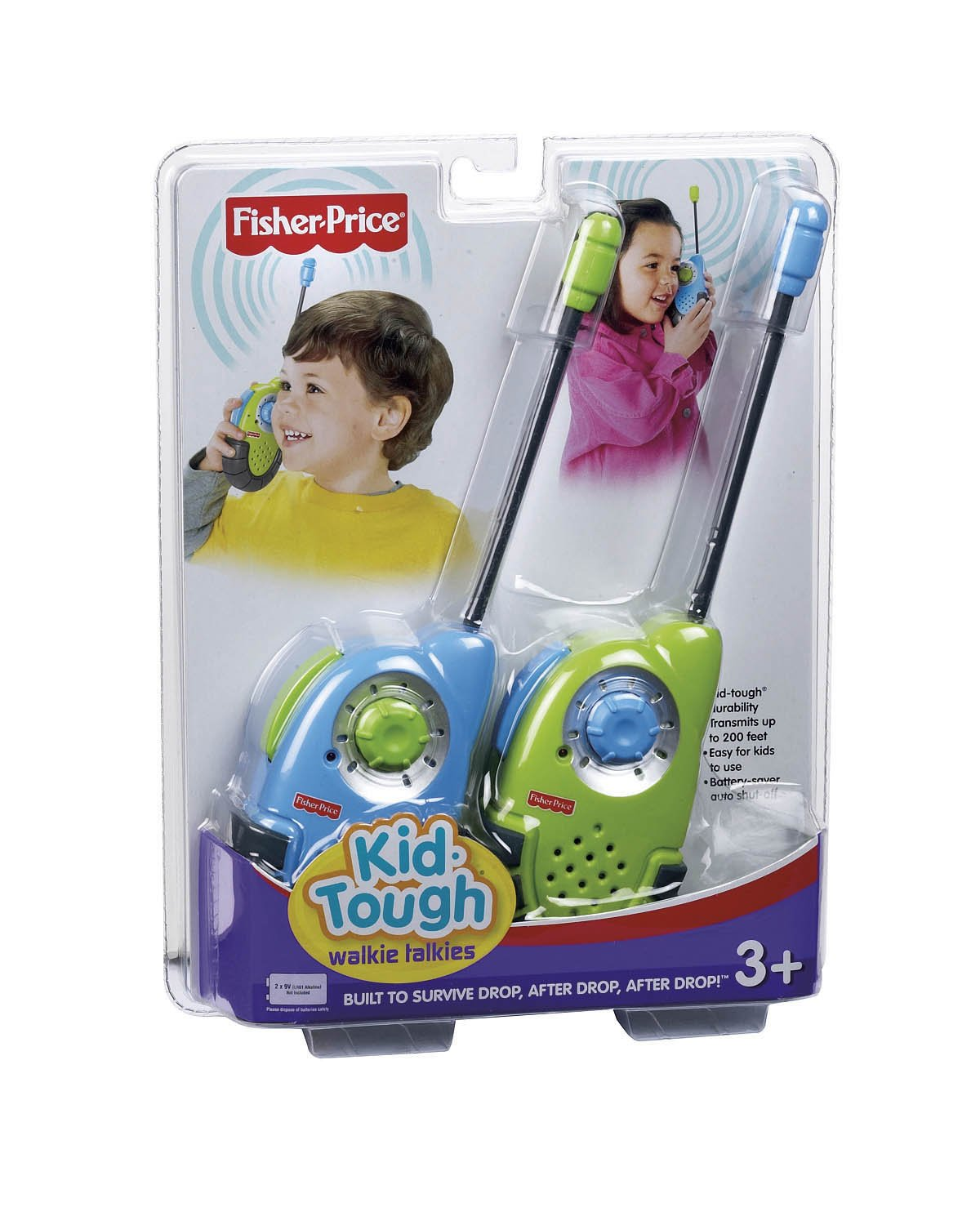 Fisher-Price Kid-Tough Walkie Talkies (Colors May Vary) by Fisher-Price (Image #5)