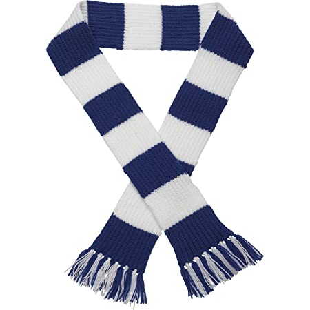 Classic Home Store Premier League Striped Football Scarf Kit