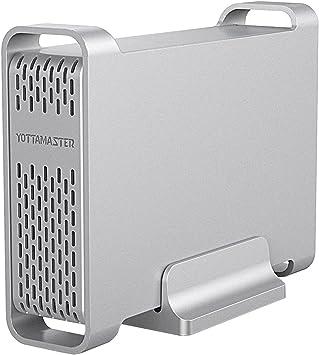 Yottamaster [UASP&4TB] Carcasa Disco Duro 2.5