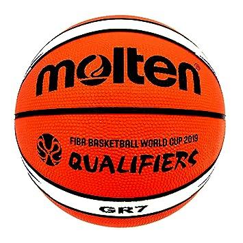 MOLTEN Balon de Baloncesto Fiba BGR7 World Cup Premium Nylon ...