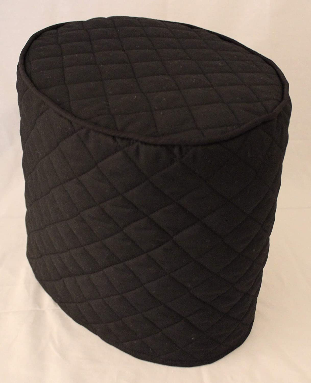 Simple Home Inspirations Quilted Cover Compatible with Keurig Coffee Brewing System (Big K, Black)