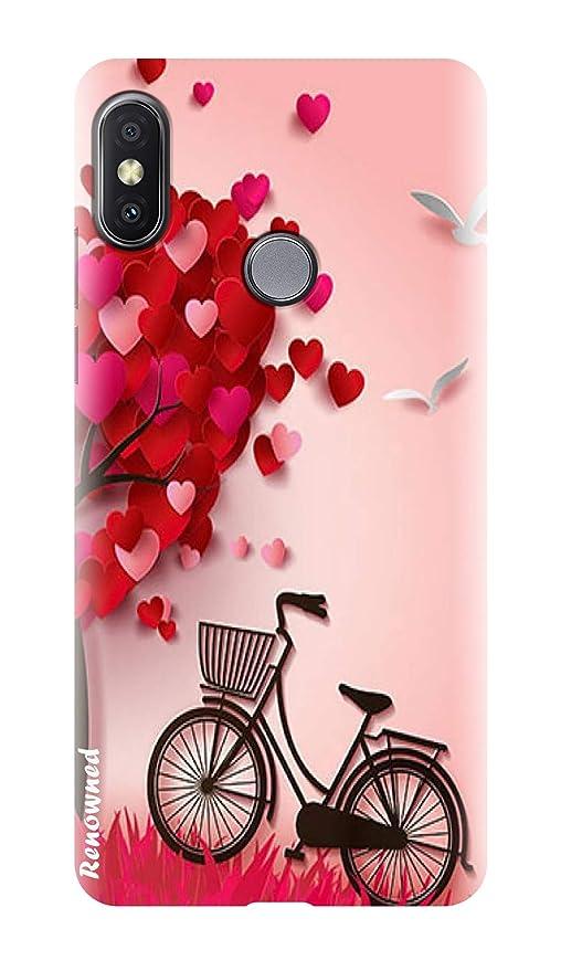 the latest 1e722 b8a68 Renowned Xiaomi Mi A2 Back Cover Designer Stylish l Xiaomi Mi A2 Printed  Back Cover I MI A2 Case - Stylish l Fancy l Girl l Red l Pink l Red l Woman