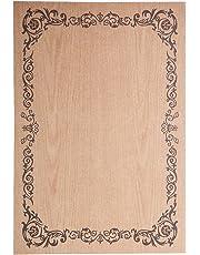 Gazechimp 8pcs Papel de Escribir de Diferente Diseños para Cartas Invitacion Estilo Vintag Elegante - #4, 215 * 145 mm