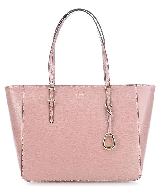 Precio pagable bastante baratas muy genial Ralph Lauren bolso de mujer Tote Tote Medium Rosa Size ...