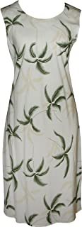 product image for Paradise Found Womens Hurricane Short Tank Dress Cream/Green/Sand XXL