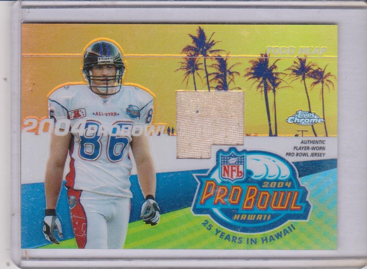 Amazon.com: 2004 Topps Chrome Pro Bowl Todd Heap Ravens ...