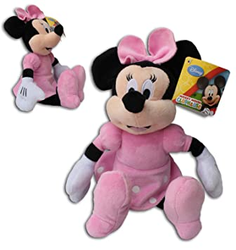 Minnie Mouse 30cm Muñeco Peluche Super Soft Raton Disney Junior Mickey Mouse Club House Alta Calidad