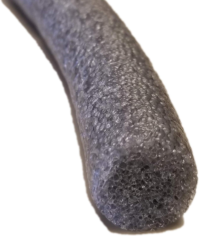 Sashco Pre-Caulking Filler Rope Backer Rod, 1/2-Inch x 100-Feet, Grey
