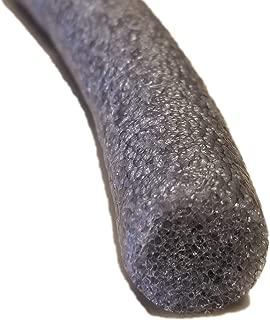 "product image for Sashco 30251 Pre-Caulking Filler Rope Backer Rod Roll, 100' Length x 1/4"" Width, Grey, 1/4"" x 100'"
