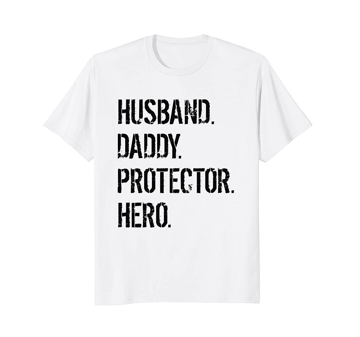 6fc5bb5c6 Cool Father Gift Shirt Husband Daddy Protector Hero T-Shirt-TH ...