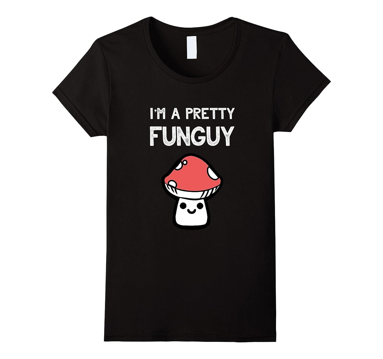 Funny Funguy Mushroom T Shirt Gifts-Awarplus