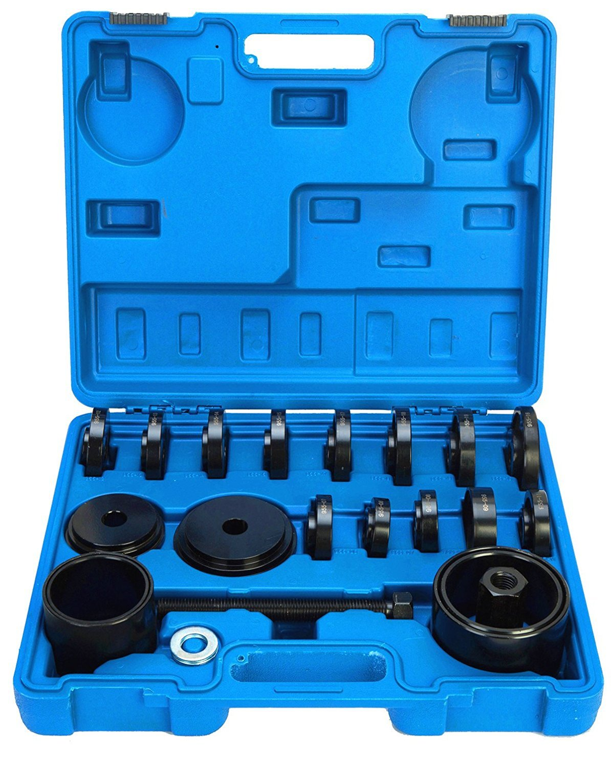 8milelake 23pc FWD Front Wheel Tool Kit Drive Bearing Removal Adapter New Puller Pulley Tool Kit freebirdtrading