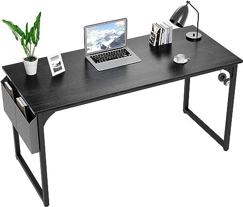 Yerivei Computer Desk 55 inch Writing Study Table