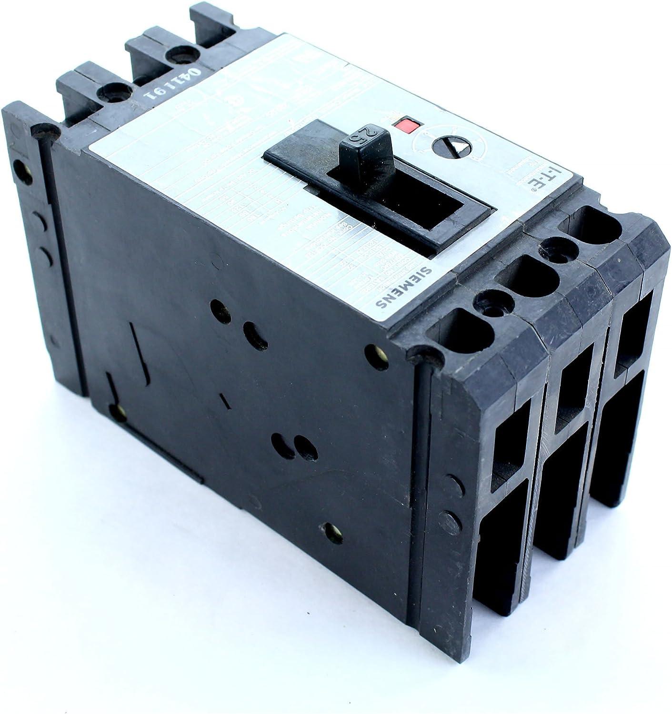 Siemens ED63A025 Motor Circuit ProtectorType ED6-ETI 3P 25A Motor Circuit Interrupter Breaker