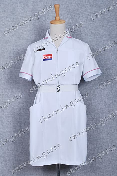 260982743456f Joker Nurse Uniform White Nurse Costume Clothing By Charmingcoco. Back.  Double-tap to zoom