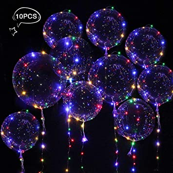 Parsion Helium Ballons 10 Stuck Helium Balloon Gas Leucht