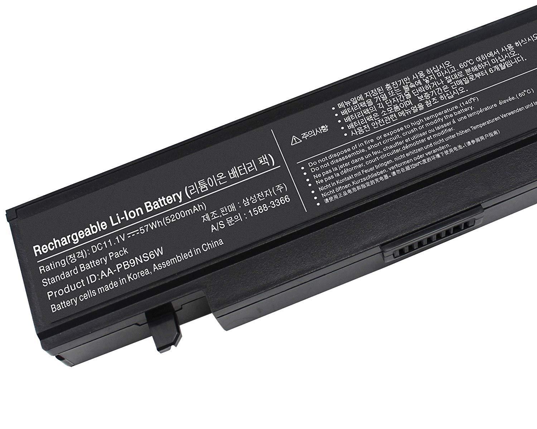 Topnma Standard Serie AA-PB9NC6B AA-PB9NS6B y AA-PL9NC6 W Batería para Samsung R519 R522 R525 R530 R540 R580 R620 R719 R780 Ordenador [6 Celdas 4400mAh ...