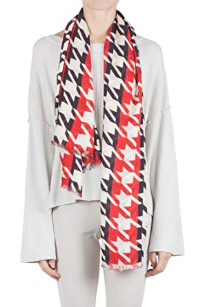 c74fe62120d3 Amazon.com  Space Simona Corsellini - Scarf woman Red A18SMSCF02 01 Sc   Clothing