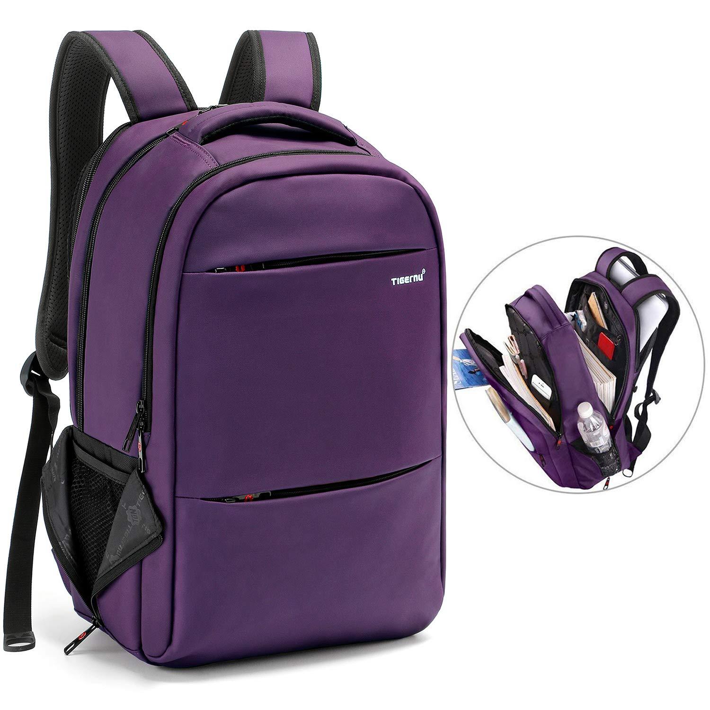 be2ebbff117 LAPACKER 15.6-17 inch Business Laptop Backpacks for Women Mens Water  Resistant Laptop Travel Bag
