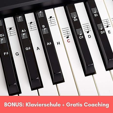 Piano + Keyboard Notas de piano + Gratis eBook | Premium para 49 ...