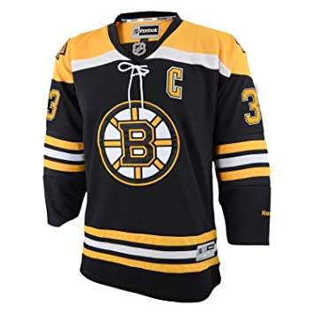 Zdeno Chara Boston Bruins Reebok NHL Youth Premier Jersey - Black ... 53f27a623