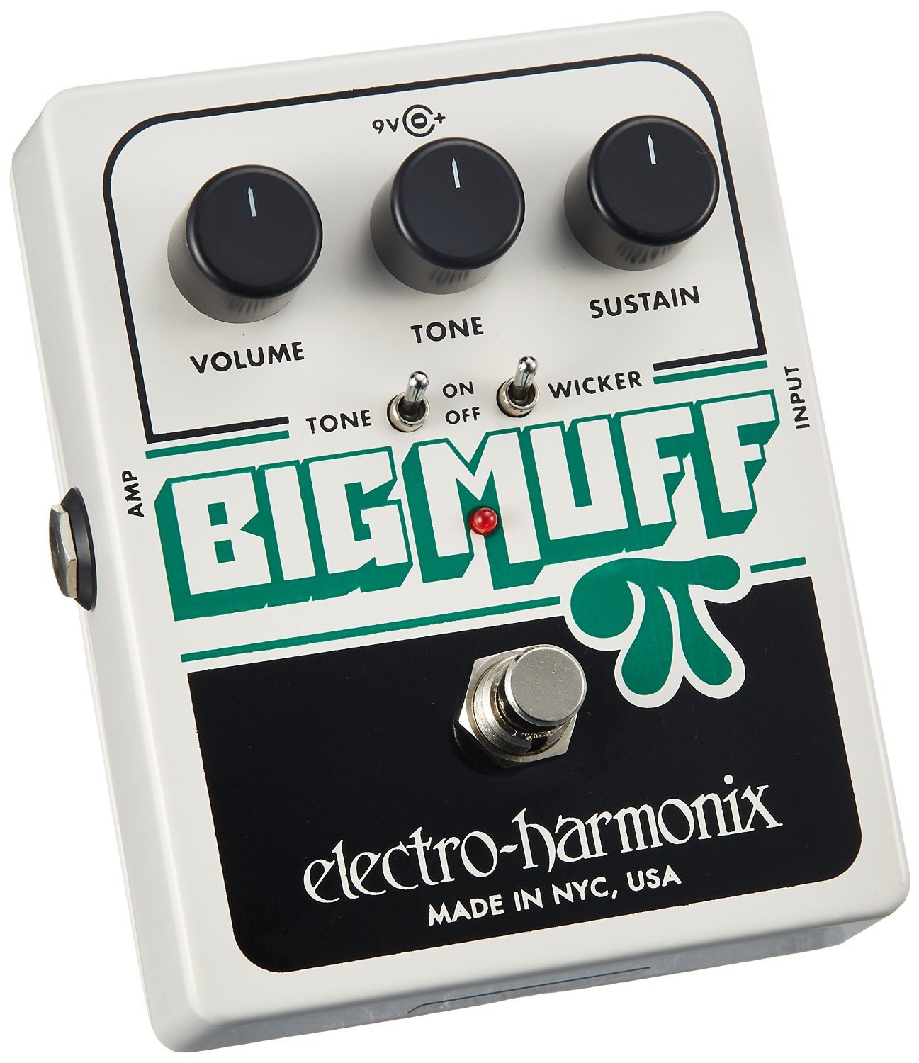Electro Harmonix Big Muff Pi With Tone Wicker Musical 147 Pedals Simple Control Brian May Treble Booster Instruments