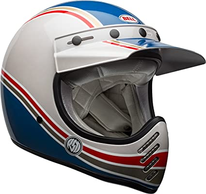 Bell Moto 3 >> Amazon Com Bell Moto 3 Off Road Motorcycle Helmet Rsd Malibu Gloss