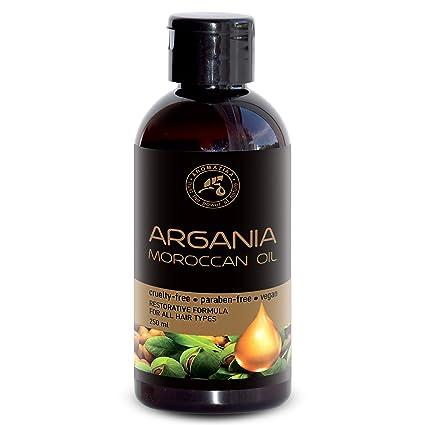 Aceite de Argán 250ml - Argania Spinosa Kernel Oil - Marruecos - 100% Pure & Natural - Mejor Aceite para el Cabello - Grandes Beneficios para la Piel ...