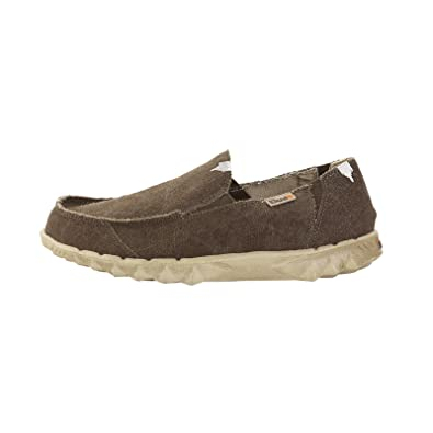 Dude Schuhe Farty klassisch Netz chestnut Slip On Schuhe/Maultier