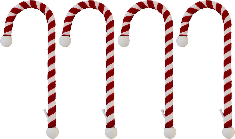 Candy Cane Stocking Pendant