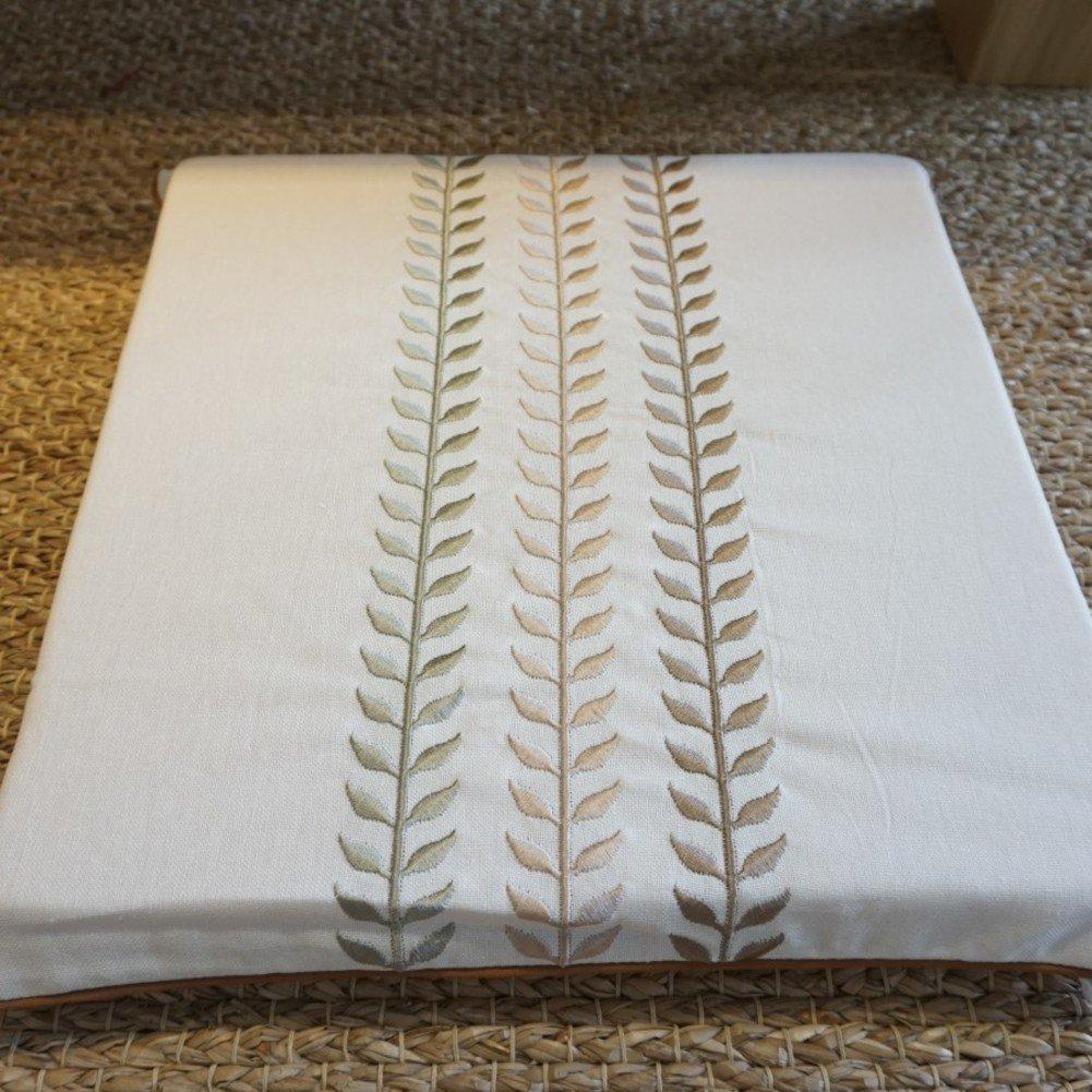 Cojín de la silla/tapicería del bordado/mesa de comedor almohadillas ...