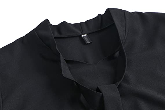 Beauty7 Irregular Camisetas Mujer Verano Cuello Mao Vendaje Mangas Larga Camisas Blusas T Shirt Tee Tops Parte Superior Casual Primavera Ocasional: ...