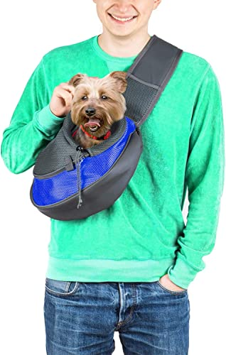 Cuddlissimo!-Pet-Sling-Carrier-Small-Dog-Cat-Sling-Pet-Carrier-Bag