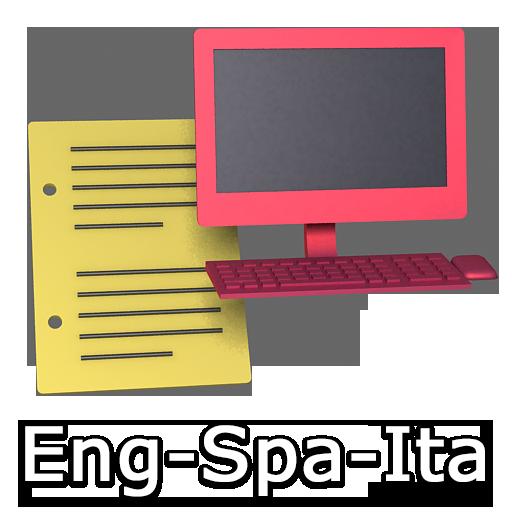 English - Spanish - Italian Full Text Translator