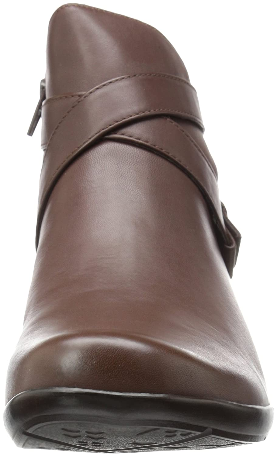 Naturalizer Women's Cassandra Ankle Bootie B06XC6QSMR 12 2W US|Brown