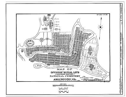 Amazon.com: Blueprint Diagram 2. Historic map - Arlington ...