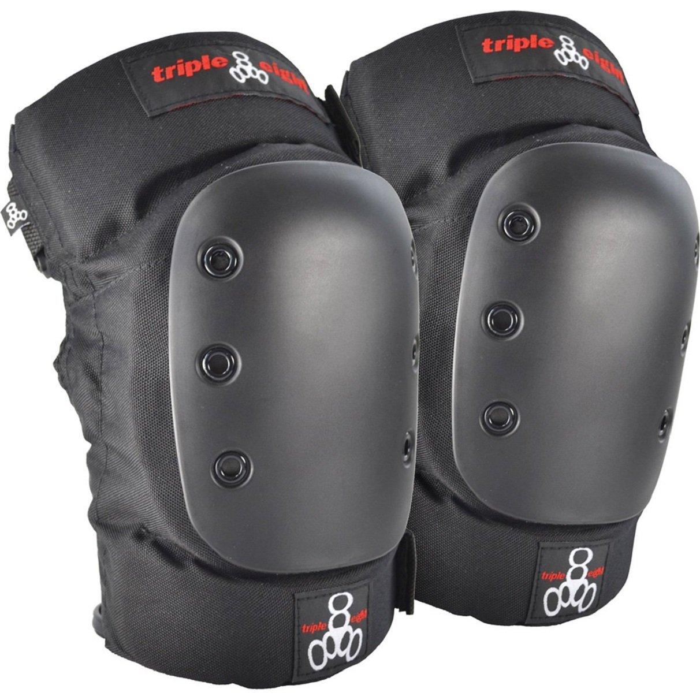 Triple 8 KP 22 Knee Pads (Black, X-Large)