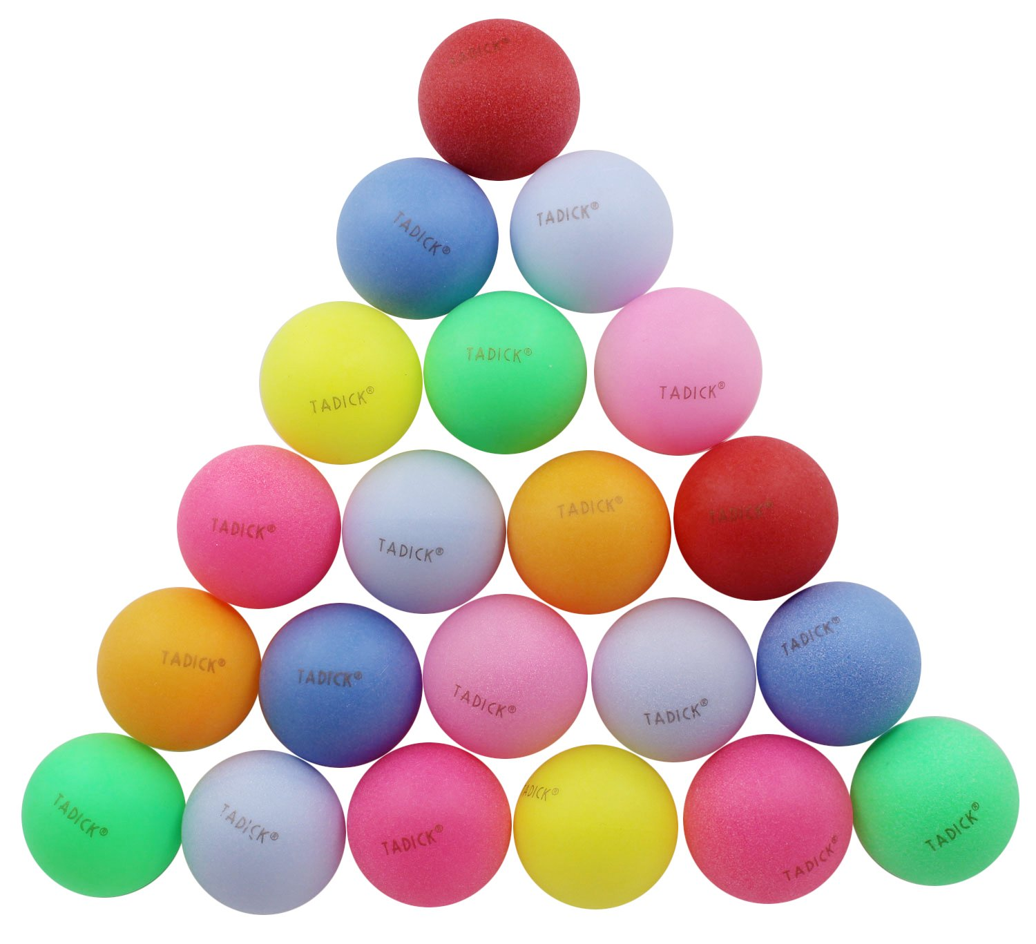 Xterra Paddle Boards >> TADICK Beer Ping Pong Balls Assorted Color Plastic Ball (50 Pack) | ExerciseN