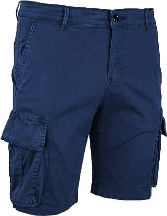 Evoga Pantalones cortos Cargo para hombre Slim Fit de