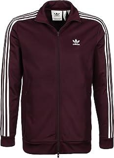 Track Tt Top Beckenbauer Chaqueta Hombres Adidas Originals Rojo wqOUTZ