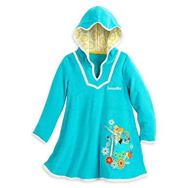 1029b0066a Amazon.com: Disney Girls Anna and Elsa Swimwear Cover-Up: Clothing