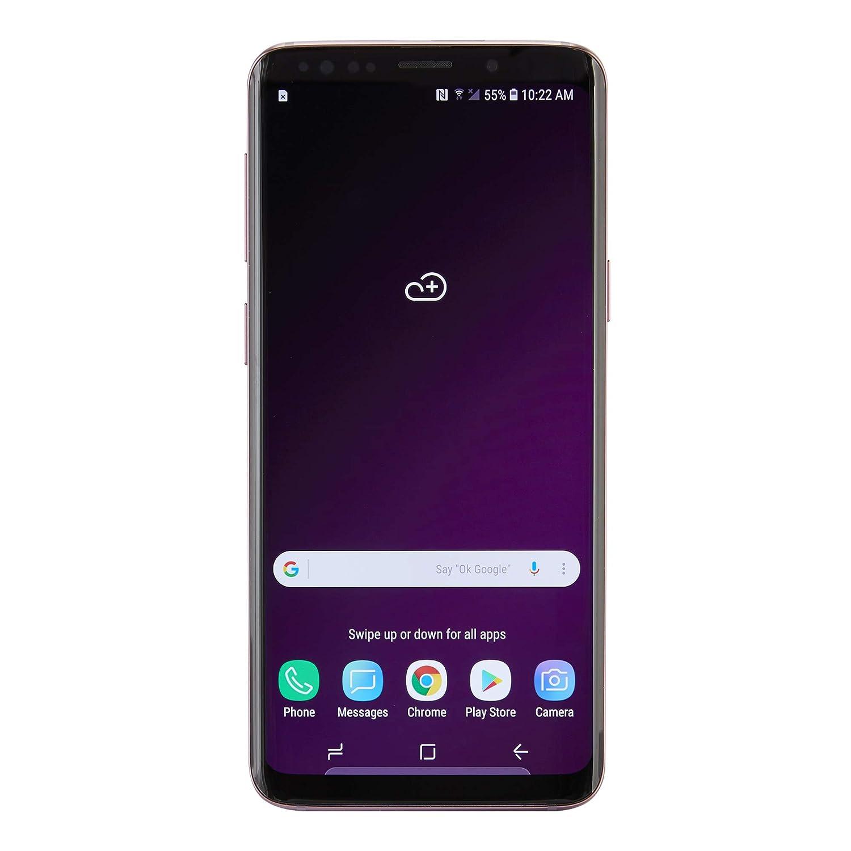 Samsung Galaxy S9 SM-G960U 64GB Blue AT&T (Unlocked) (Renewed)