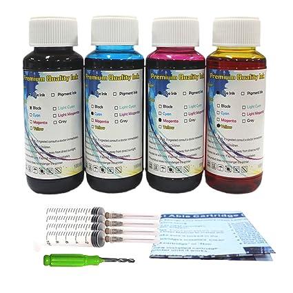 hotcolor por recarga botella 100 ml dye cartucho de ...